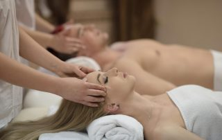 couples massage at home