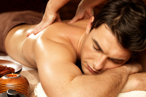 Special massage relaxing home